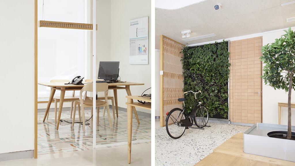 Oficina ecológica Triodos Málaga