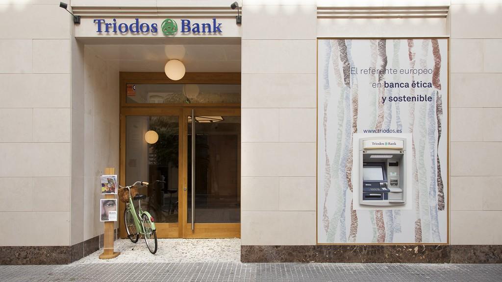 Iluminación Triodos Bank Málaga