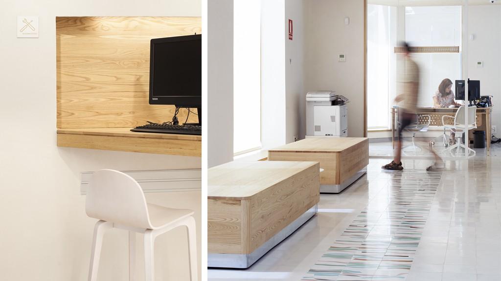 Mobiliario Triodos Bank Málaga
