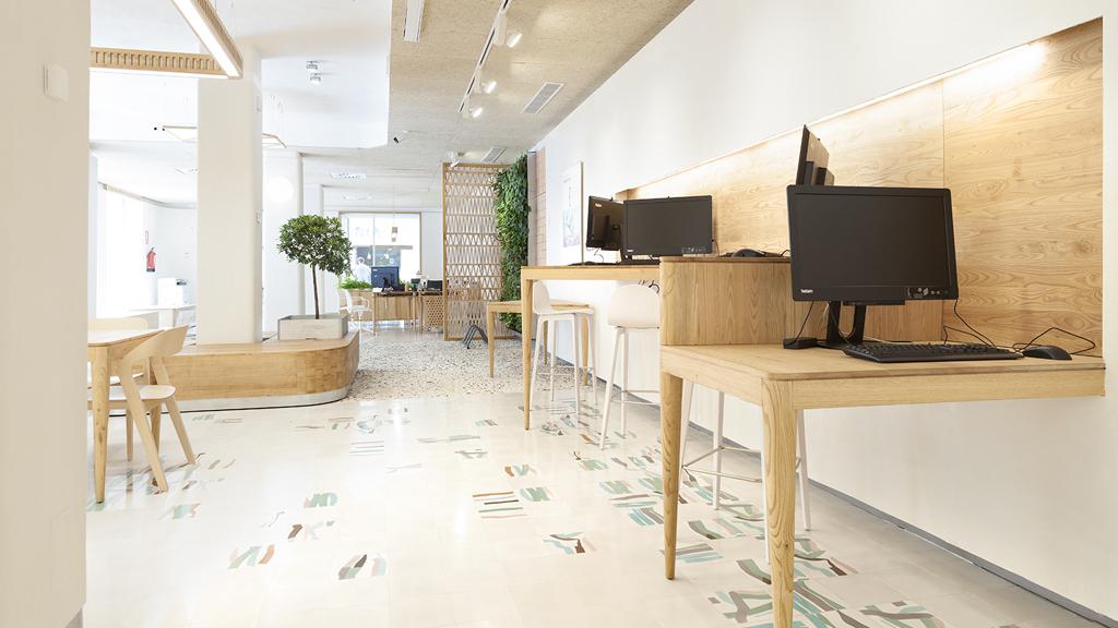 Tres claves para entender los espacios retail for Oficina triodos madrid